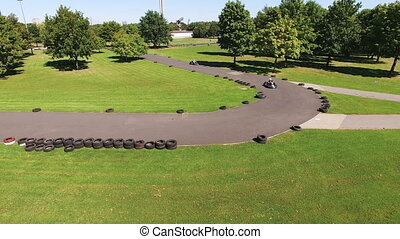karting, course, -, hd