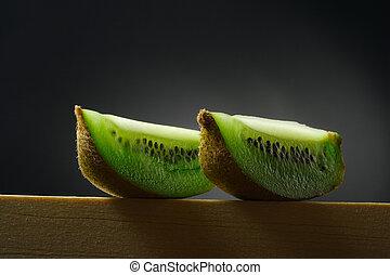 kiwi, vie, encore, fruit