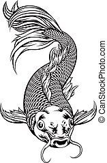 koi épiloguent, fish