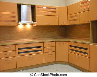 léger brun, cuisine