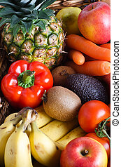 légume, fruit, sélection