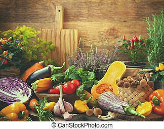 légumes frais, assorti
