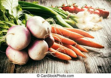 légumes frais, organique