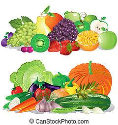 légumes, fruit