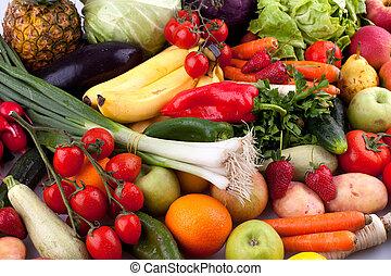 légumes, fruits