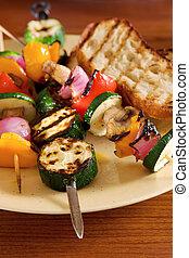 légumes grillés