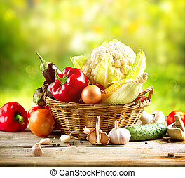 légumes, organique