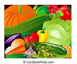 légumes, pano