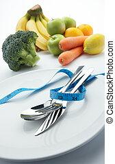 légumes, régime, fruits