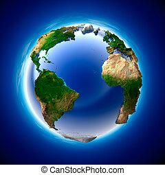 la terre, écologie