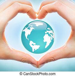 la terre, amour