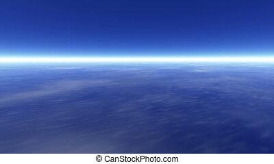 la terre, atmosphère