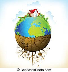 la terre, distruction