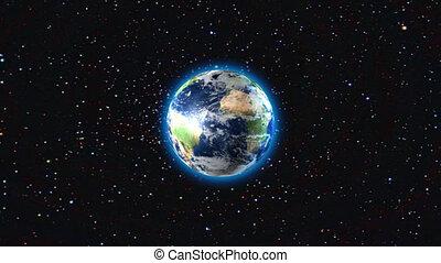 la terre, exploser
