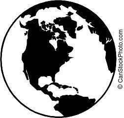 la terre, icône