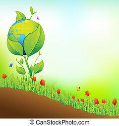 la terre, jardin