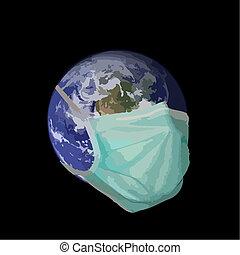 la terre, pandémie