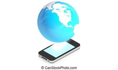 la terre, téléphone