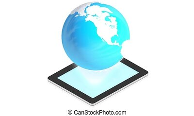 la terre, tablette