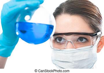 laboratoire, scientifique, fonctionnement