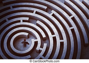 labyrinthe, centre