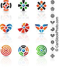 labyrinthe, icônes
