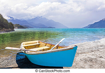 lac, bateau