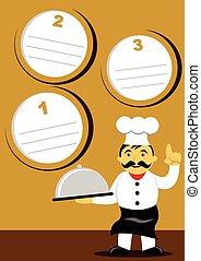 laissons, cuisinier