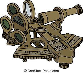 laiton, historique, sextant