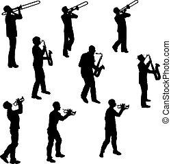 laiton, musiciens