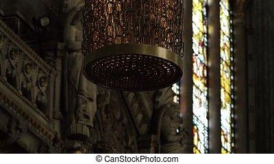 lampe, beau, chef-d'œuvre, lyon