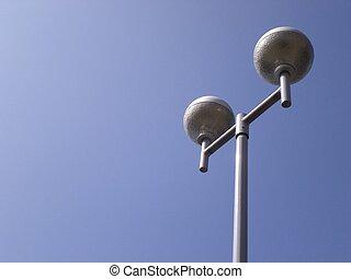 lampe, poteau
