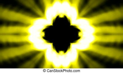 lancement, bouddhisme, fleur, lotus, rayons