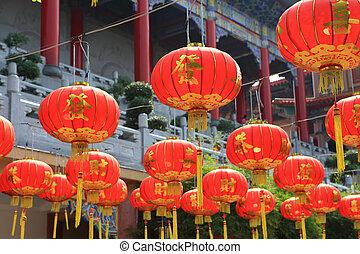 lanternes, chinois