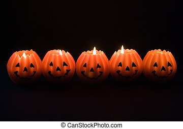 lanternes, halloween