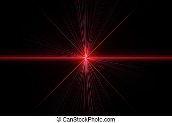 laser, rayons