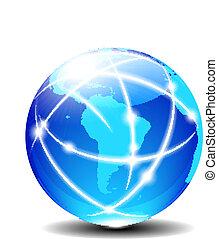 latin, global, amérique, sud