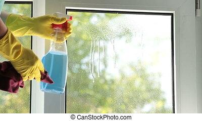 lavage fenêtre