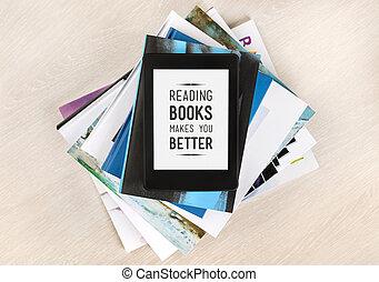 lecture, mieux, livres, marques, vous