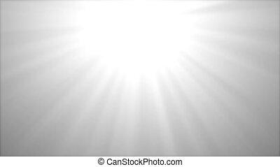 lentille, 3d, naturel, éclats (flares), optique, propre, 4k, blanc, animation., boucle, bleu, techy