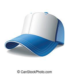 lentille bleue, base-ball