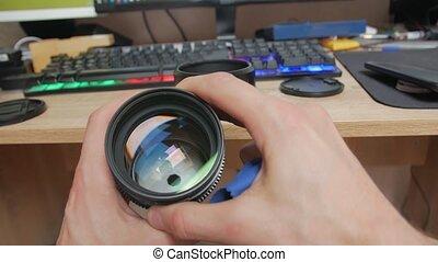 lentille, ouverture, appareil photo