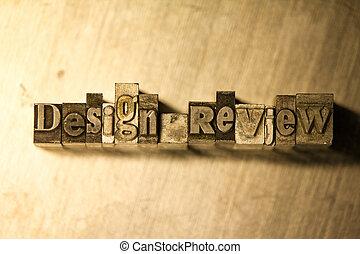 letterpress, texte, revue, -, signe, conception