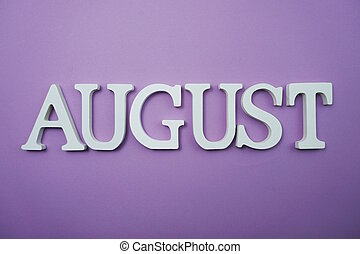 lettre, août, alphabet, copie, fond, espace, pourpre
