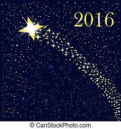 levée, 2016, étoile