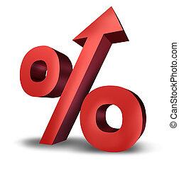 levée, taux, intérêt