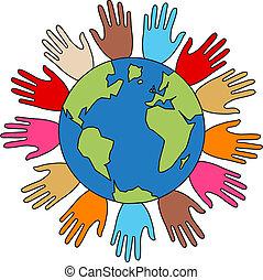 liberté, paix, diversité