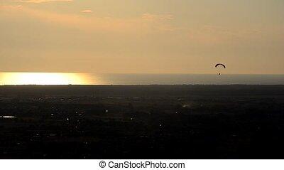 liberté, paragliding