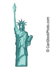 liberté, statue