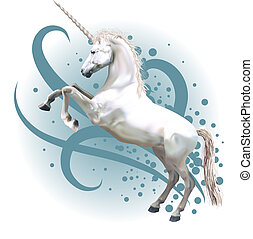 licorne, illustration